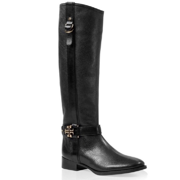3571ebd1fcd8 NWT Tory Burch Elina Riding Boot